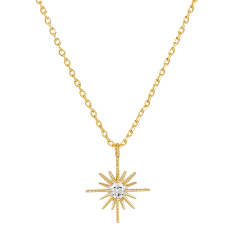 Comet Necklace : Gold