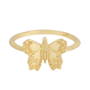 Butterfly Ring : Gold