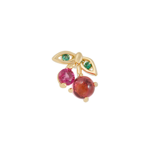 Very Cherry Piercing Style Earring