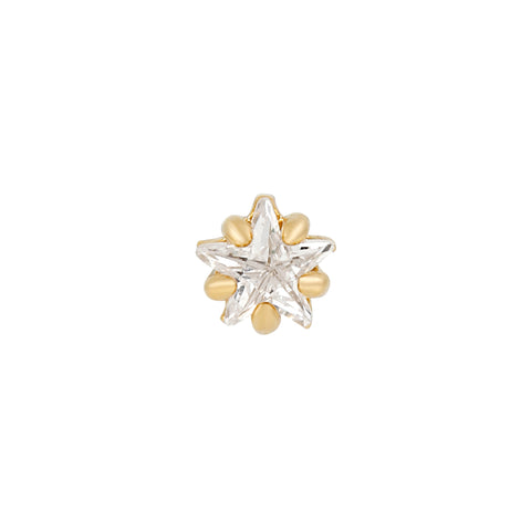 Teeniest & Brightest Star Piercing Style Earring