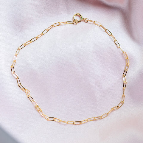 Teeny Linked Anklet
