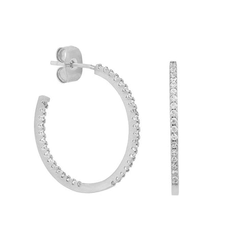 Classic Sparkle Hoops