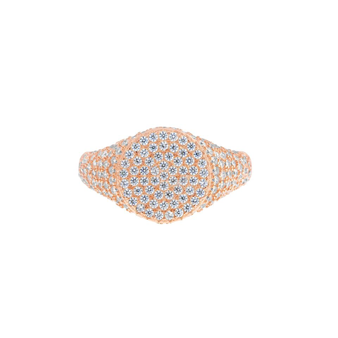 Bling Signet Ring