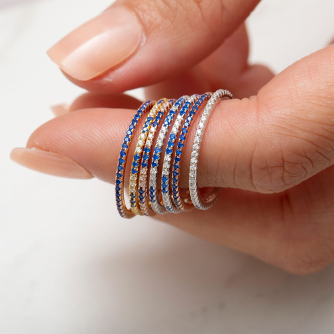 Royal Blue Stack Ring