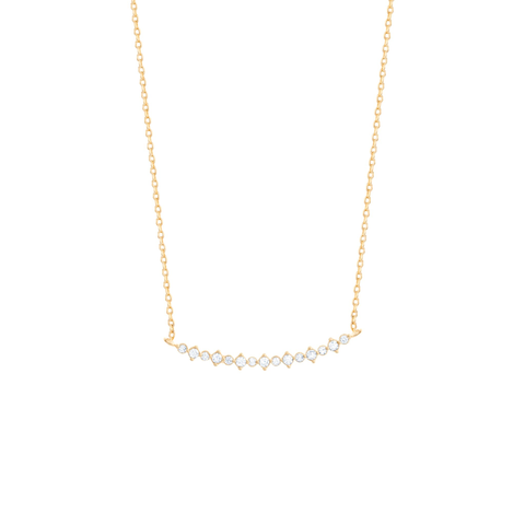 Bar Diamond Necklace