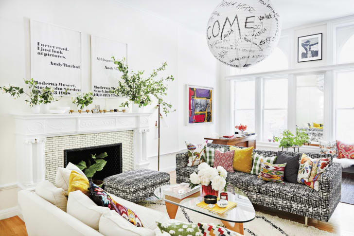 Domino: A Prewar Brooklyn Home Marries Historic Charm with Modern, Artful Style — And Our Lanterns!