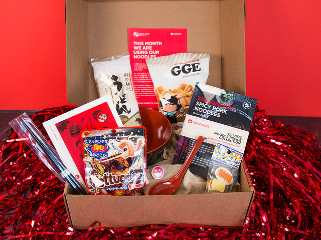 Our Latest Friendship Box: Oodles of Noodles!