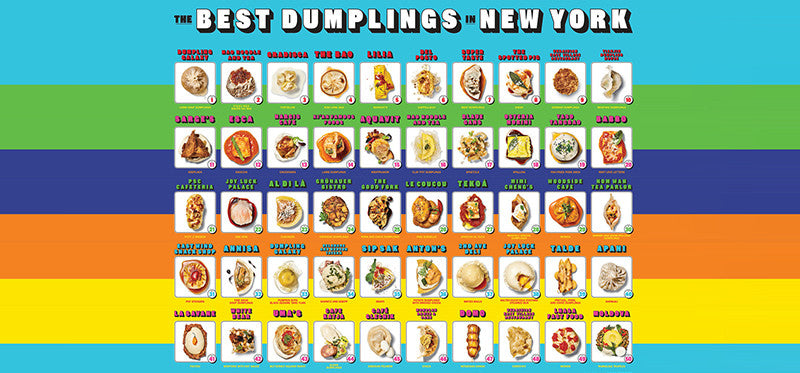 New Obsession: Dumpling Trading Cards Now at Pearl River Mart