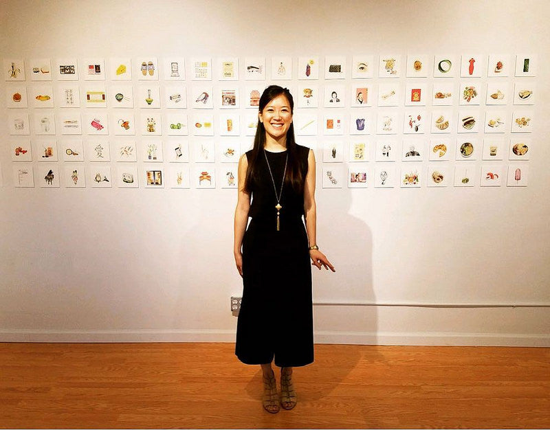 Felicia Liang: #100DAYSIANS: An Illustrated Exploration of Asian American Identity (Aug. 12–Sept. 23, 2017)
