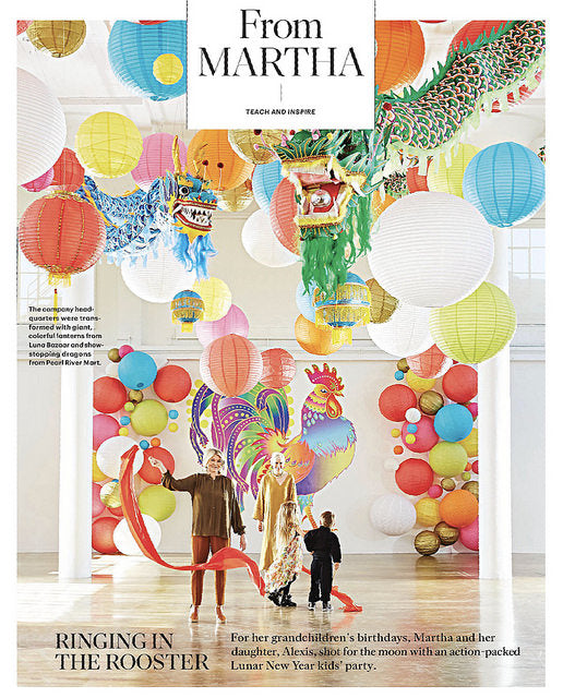 Martha Stewart Living: Celebrating Birthdays, Lunar New Year Style