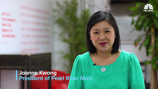 NBC News: Historic Pearl River Mart Reopens to Bring 'Cross-Cultural Joy' to NYC