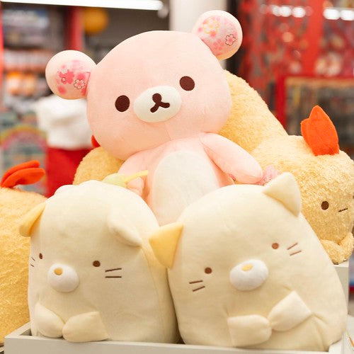 Pile of plush animals