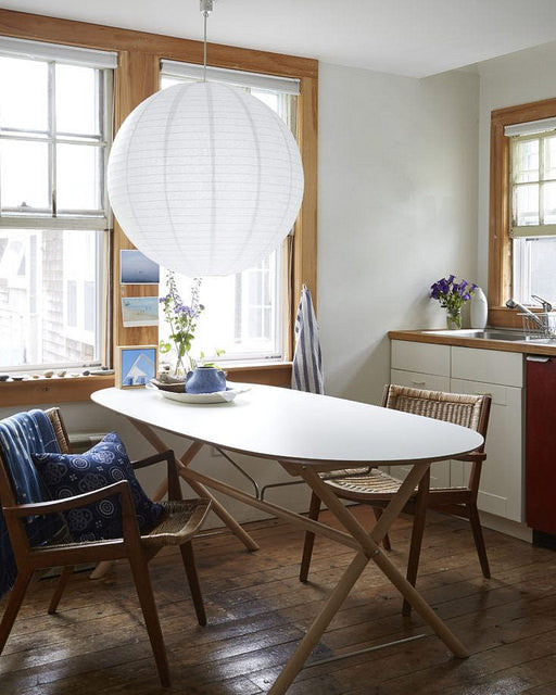 "Remodelista: Our Lantern Adds a ""Light"" Touch to a Lovely Beach Cottage"