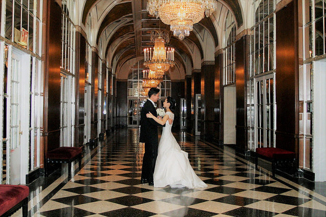 An NYC Bride Embraces Tradition and Culture (With a Dash of Art Deco)