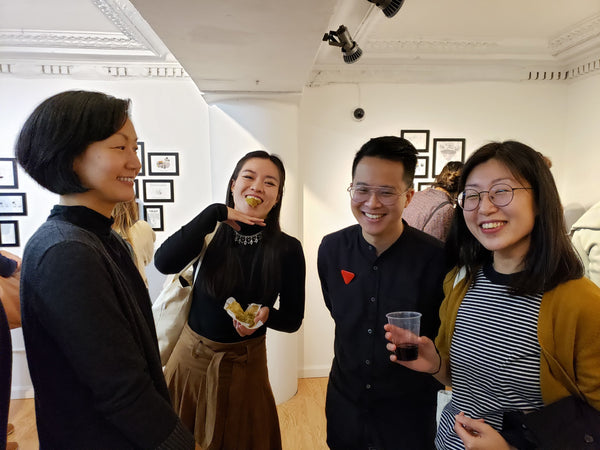Cartoonists from Asian Babies art exhibition