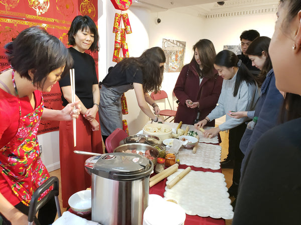 Cooking in gallery