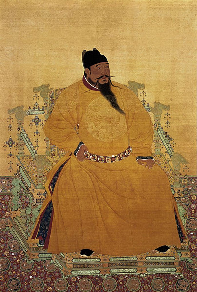 Emperor Chengzu of the Ming Dynasty in dragon robes
