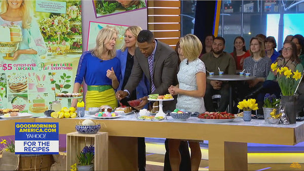 GMA Easter segment with Pearl River bowls