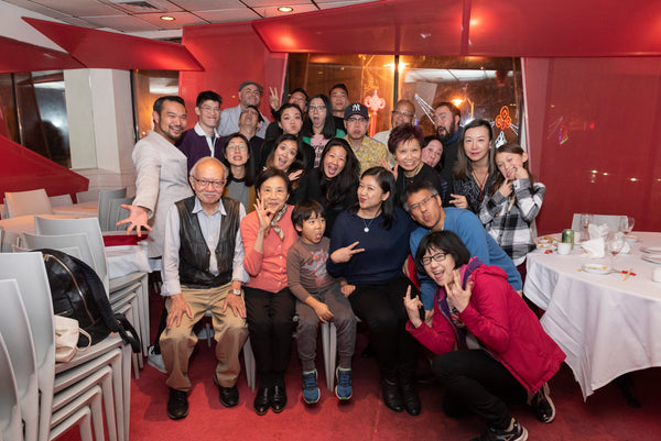 Pearl River artists dinner Oct. 2019