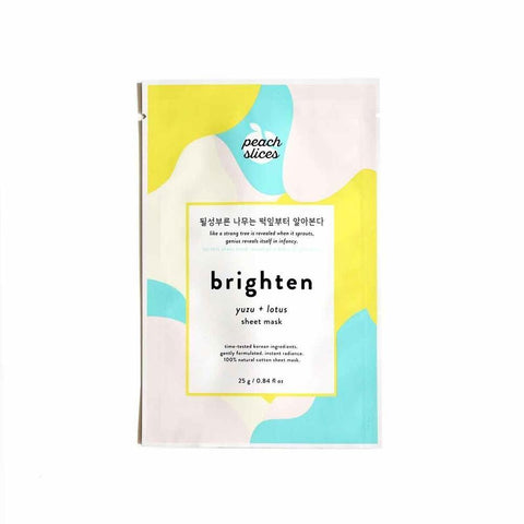 Brighten sheet mask