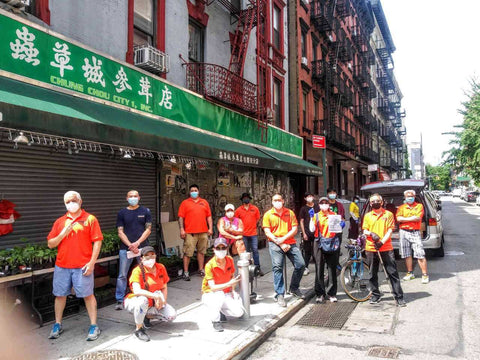 Chinatown Block Watch volunteers