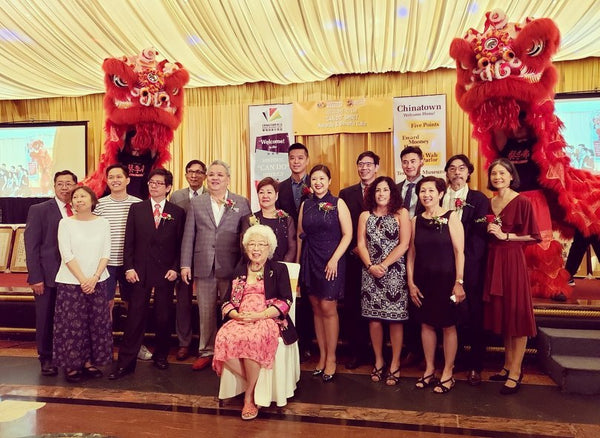 Honorees at the 2019 Explore Chinatown gala and benefit dinner