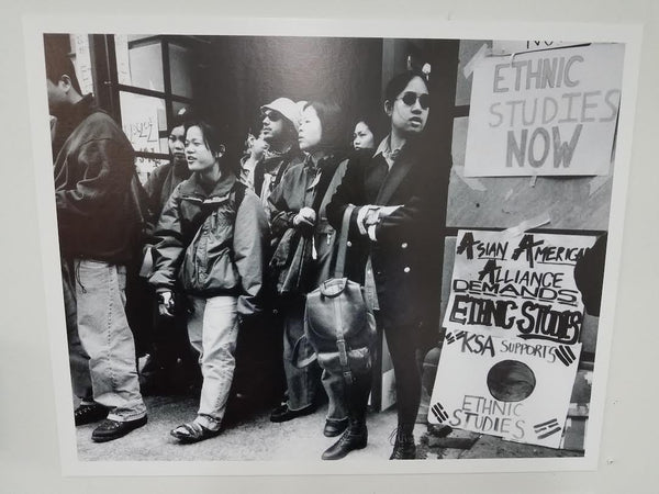 Asian American student protest