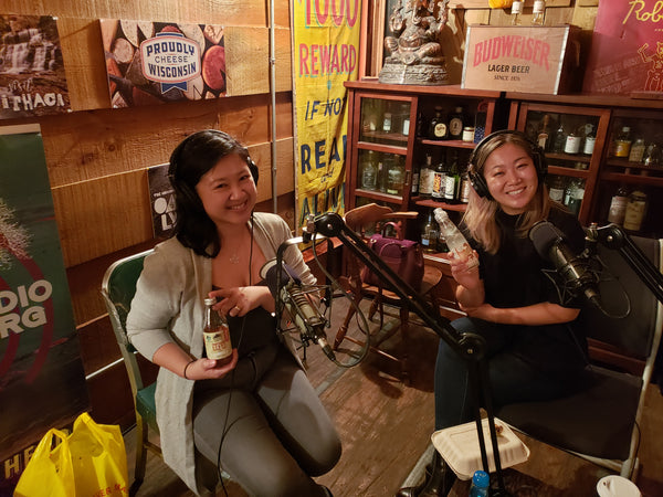 Joanne Kwong with Lydia Liu, host of Feast Meets West podcast