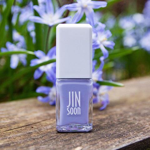 "Jinsoon brand nail polish in purple ""Birdie"" color"