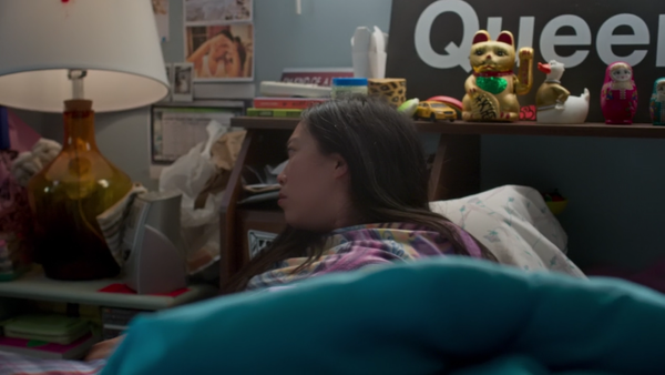 Nora wakes up in Awkwafina is Nora from Queens