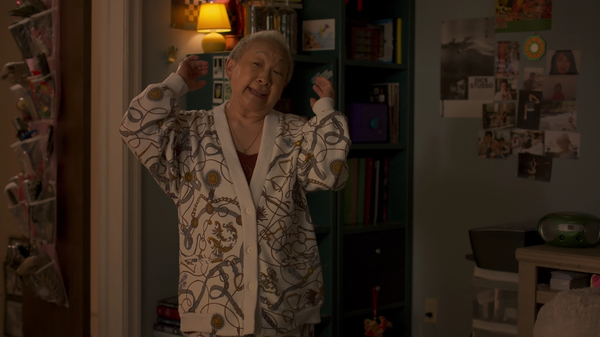 Grandma on Awkwafina is Nora from Queens