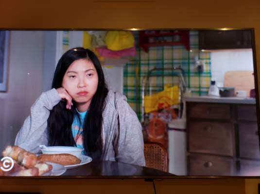 Nora frowns on Awkwafina is Nora from Queens