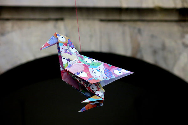 Parajita, or Spanish origami bird