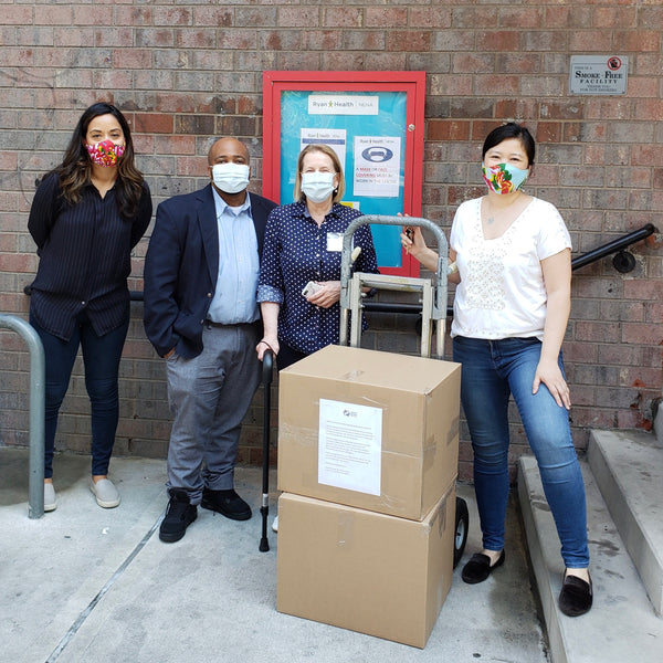 PPE dropoff at Ryan Health