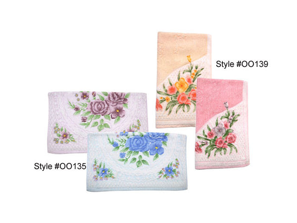 Floral Cotton Towel