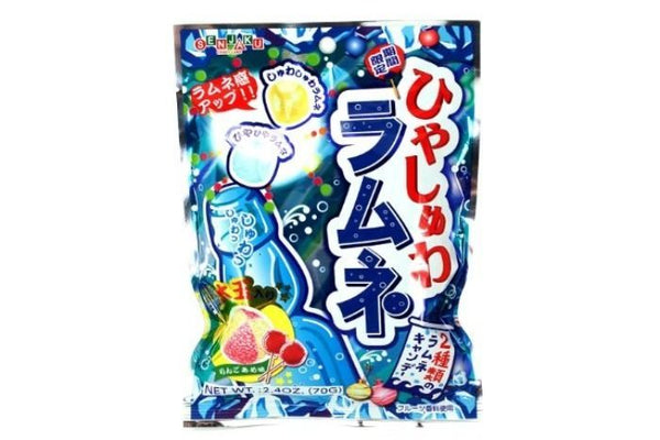 Senjaku Cool Soda Candy Ramune Flavored Candy