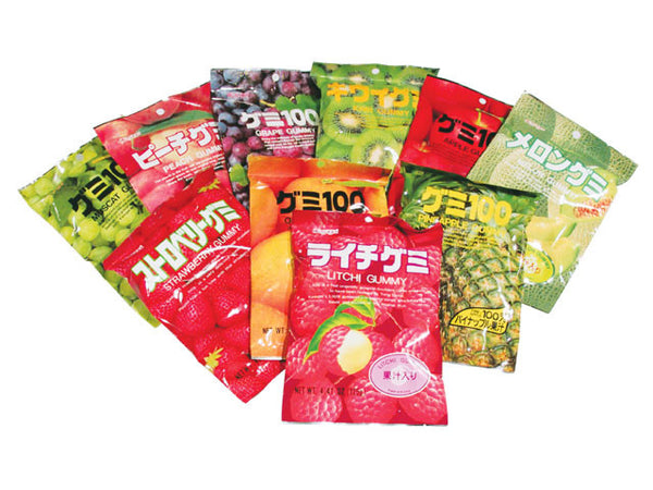 Fruit Flavor Gummy Candies