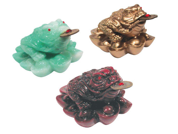 Three-legged Toad (Money Frog) on Ingots