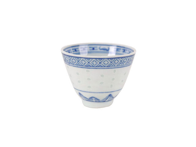 Classic Blue Rice Pattern - Teacup