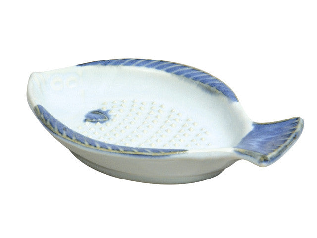 Fish Shape Design Porcelain Ginger Grater