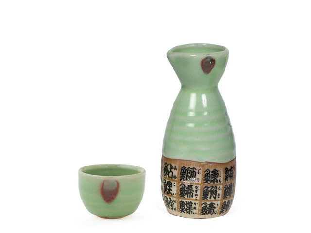 Sushi Fish Characters Sake Bottle / Cup