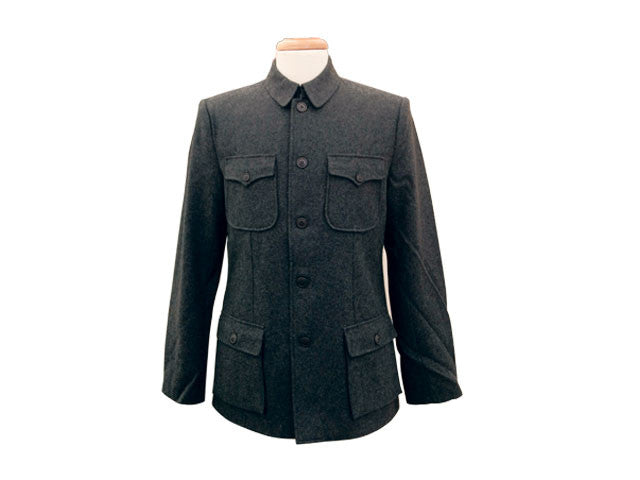 Mao Jacket - Wool Blend