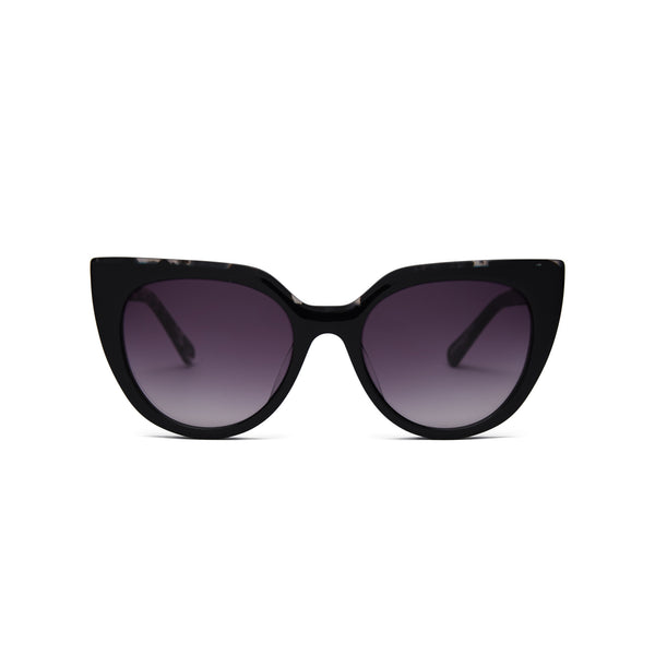 Covry - Carina Black Sunglasses