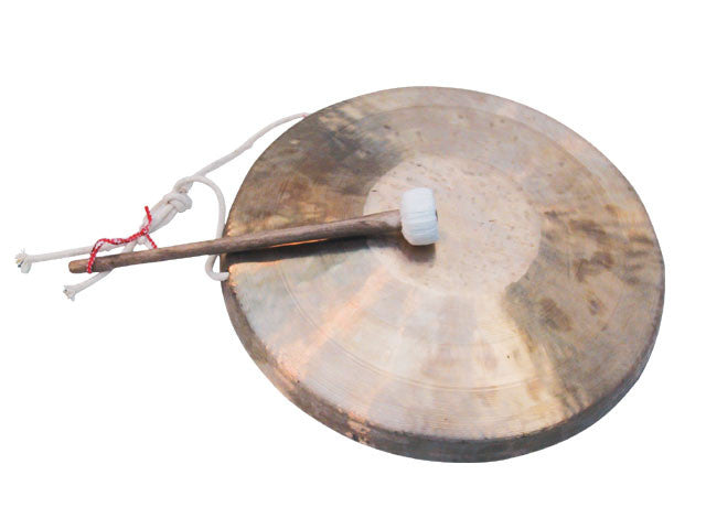Brass Gong with Mallet