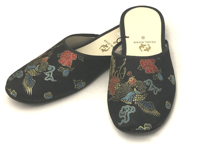 Phoenix Design Rayon Brocade Slipper
