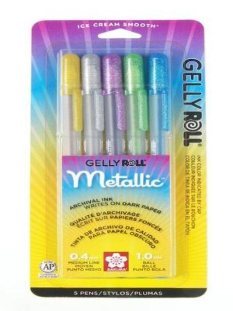 Pen Pack - Gelly Roll Hot Metallic