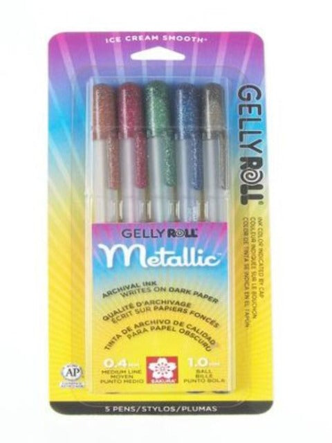 Pen Pack - Gelly Roll Dark Metallic
