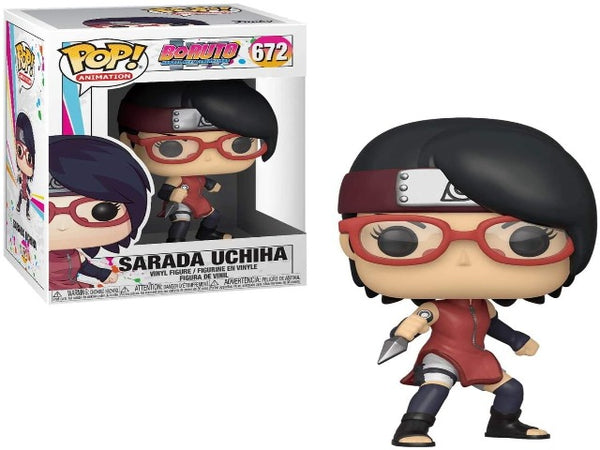 Funko POP! Animation Boruto Sarada Uchiha Collectible Figurine