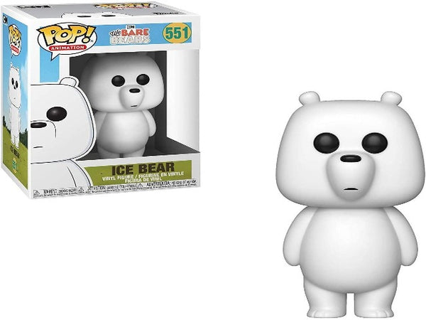 Funko POP! We Bare Bears Ice Bear Collectible Figurine