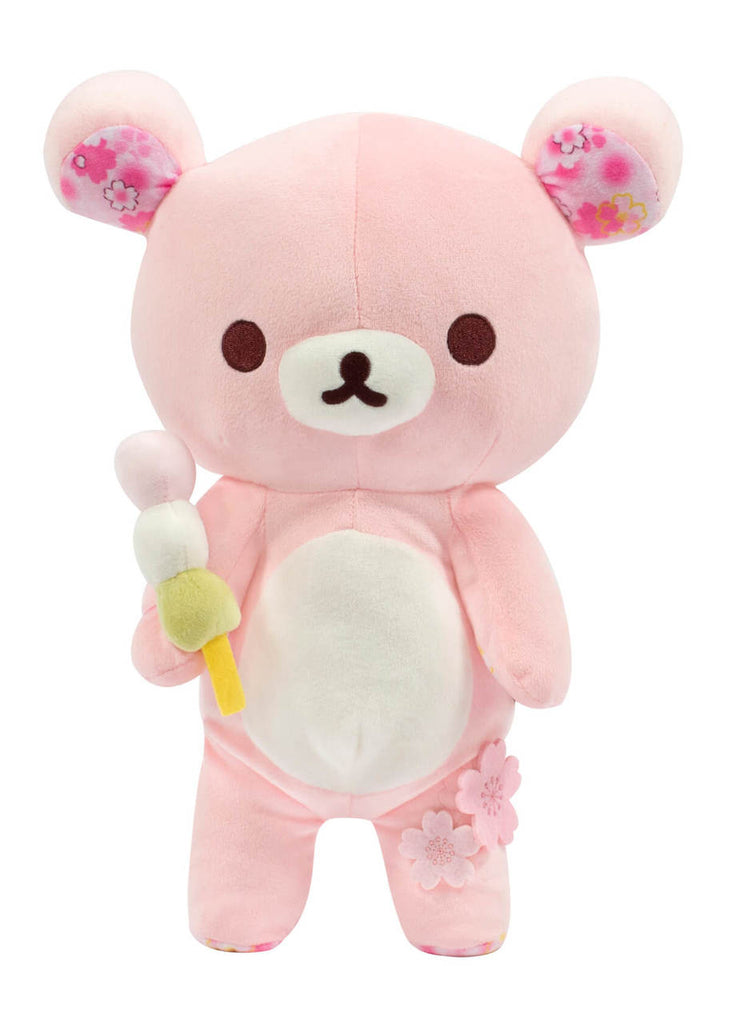 Plush Rilakkuma Cherry Blossoms